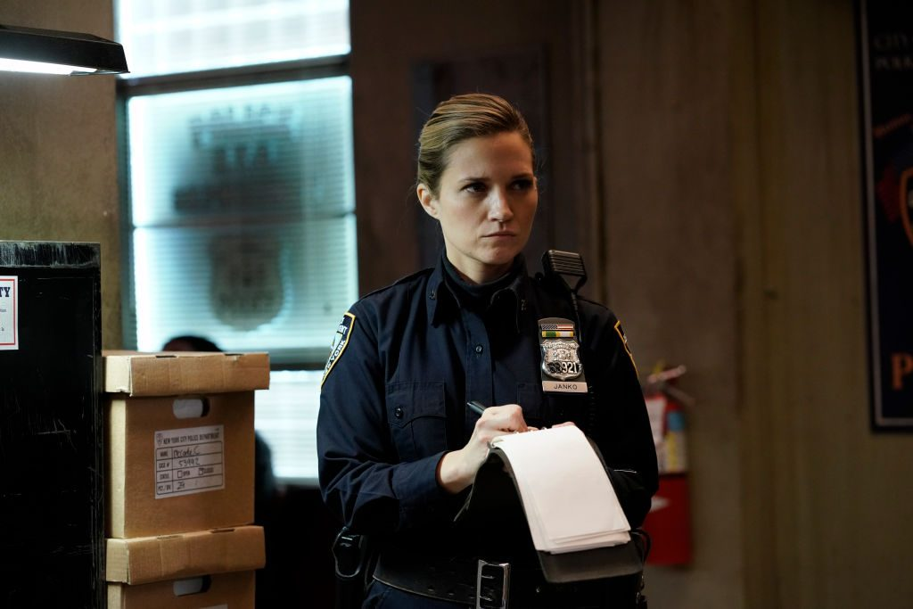 Vanessa Ray as Eddie Janko Blue Bloods |  Patrick Harbron/CBS via Getty Images