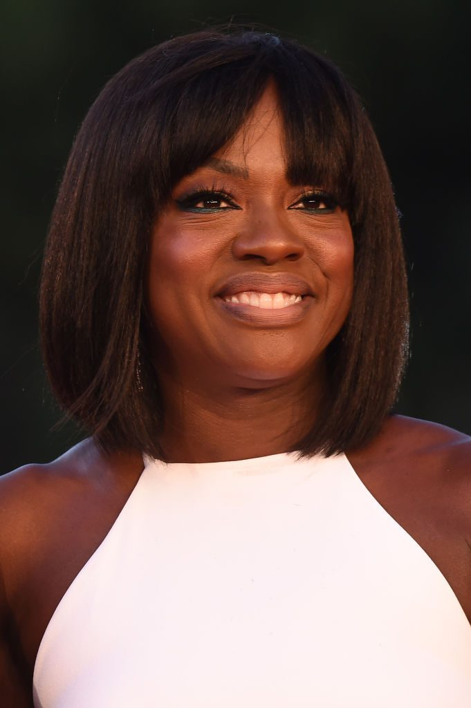 Viola Davis on Red Carpet at Rome Film Festival, where she was when she spoke about Marvel