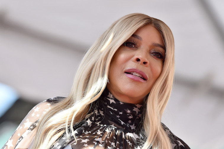 Wendy Williams on the Hollywood walk of fame