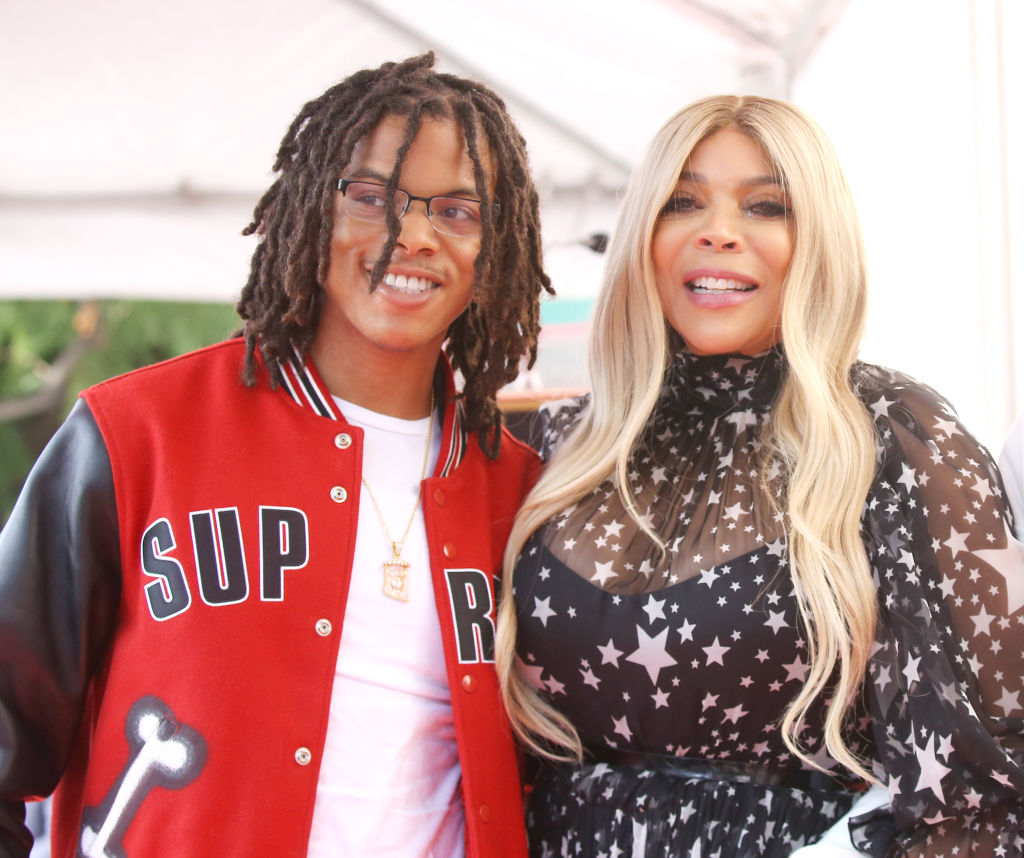 Wendy Williams and son, Kevin Hunter Jr.