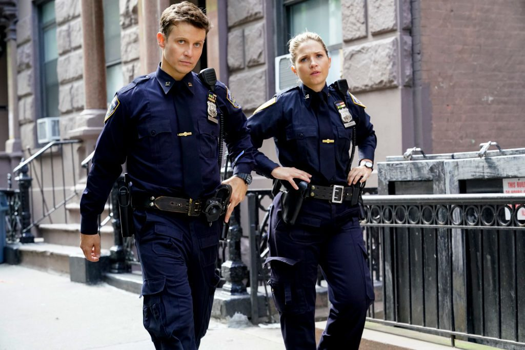 Will Estes and Vanessa Ray |  Richard Boeth/CBS via Getty Images