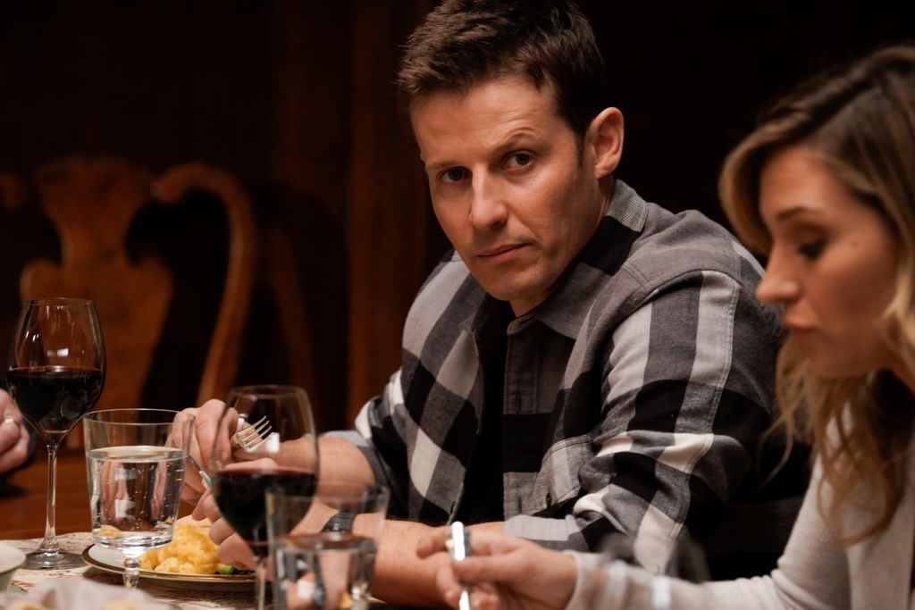 Will Estes at Blue Bloods Reagan family dinner | Patrick Harbron/CBS via Getty Images