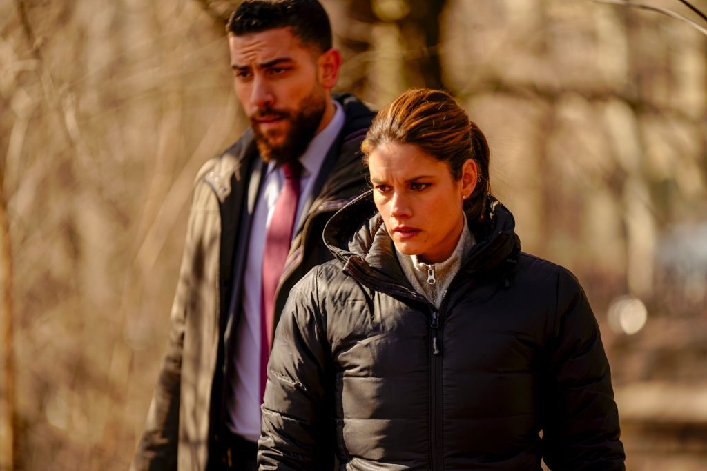 Zeeko Zaki and Missy Peregrym in FBI |Michele Crowe/CBS via Getty Images
