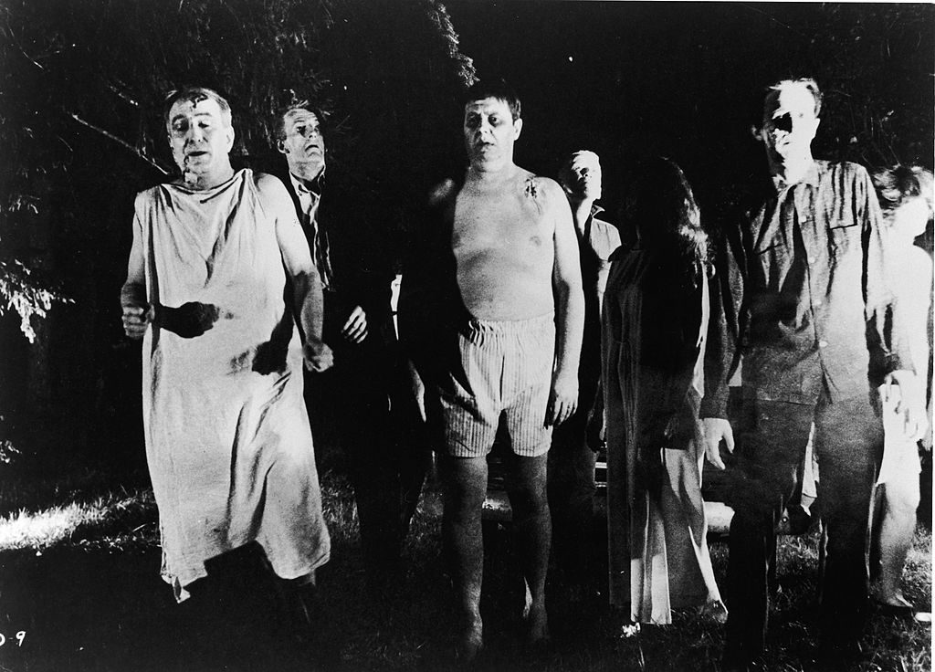Zombies From 'Night Of The Living Dead'