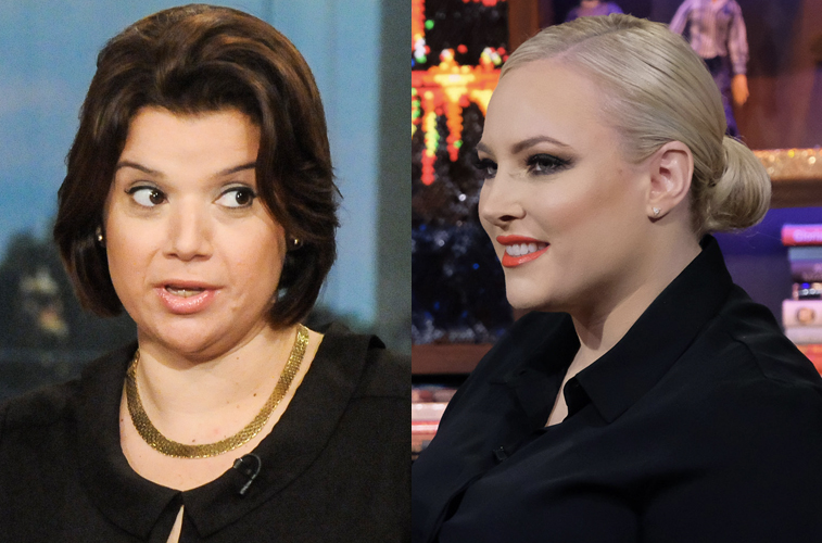 Ana Navarro and Meghan McCain, co-hosts on 'The View'