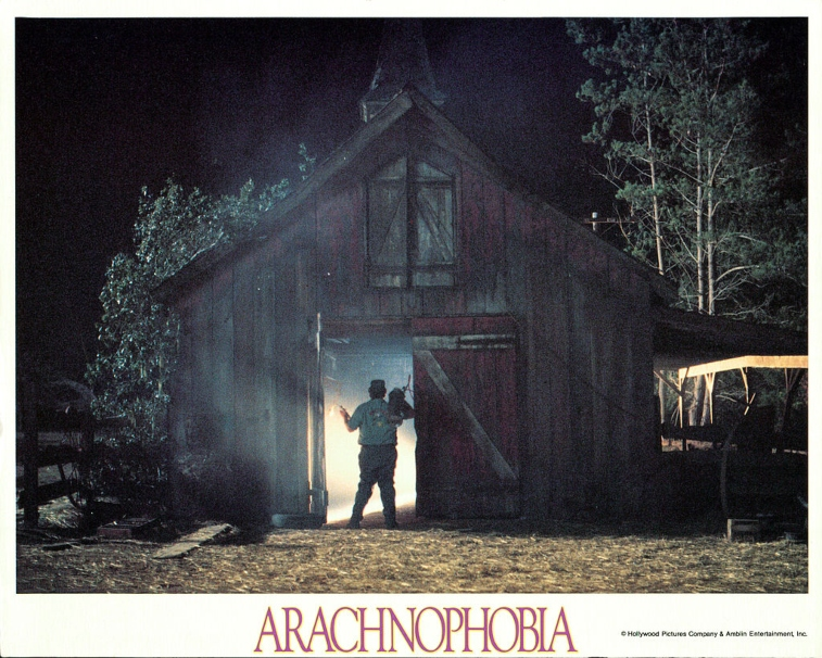 Poster for 'Arachnophobia'
