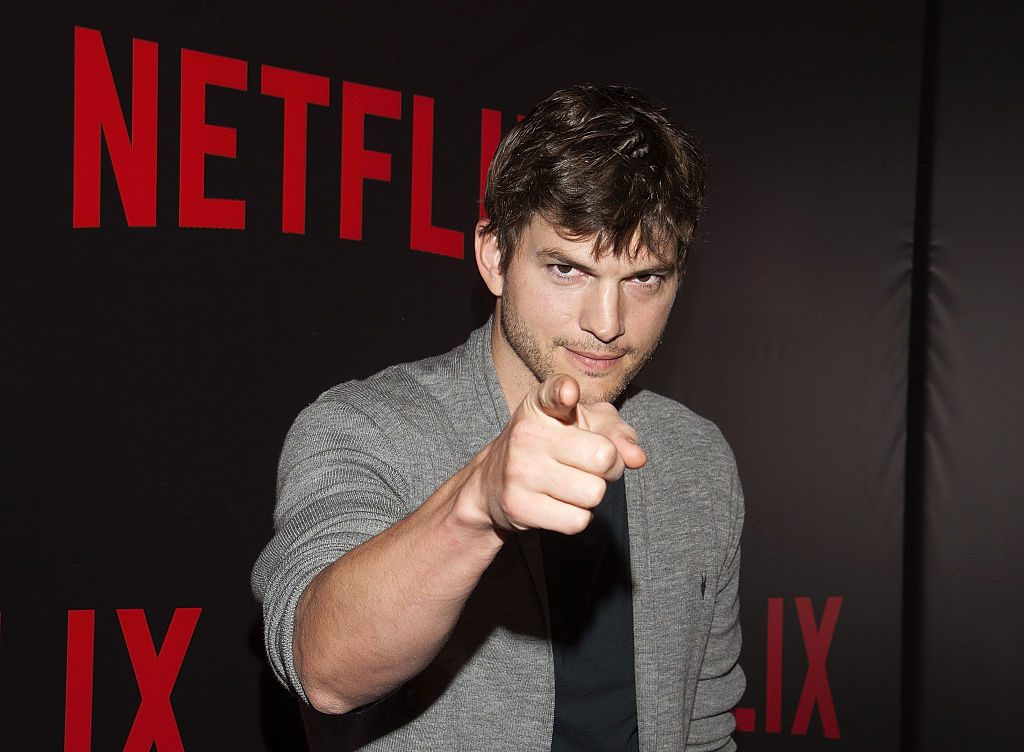 Ashton Kutcher attends the 'Netflix Red Carpet' event at the Four Seasons Hotel in Argentina.
