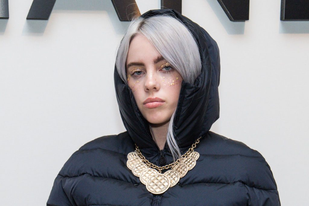 Billie Eilish at the Chanel celebration of the launch of The Coco Club.