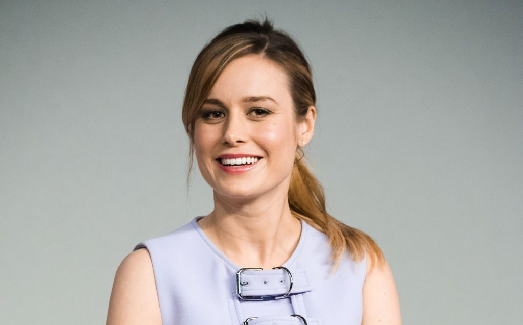 Actress Brie Larson attends a panel during the 'Kong: Skull Island' cast presentation.