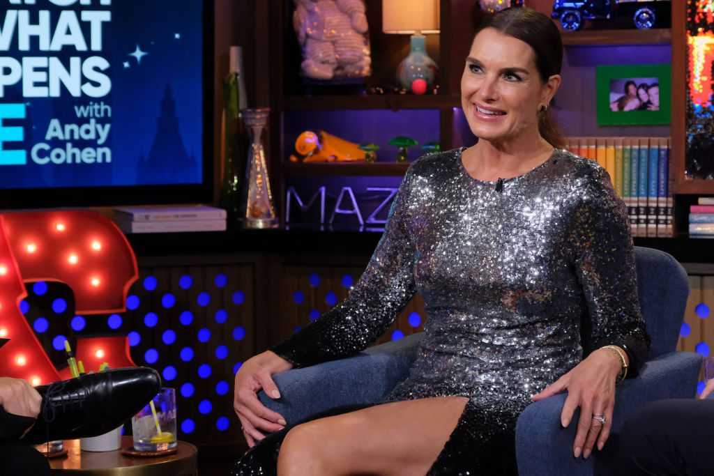 Brooke Shields on 'Watch What Happens Live With Andy Cohen.'