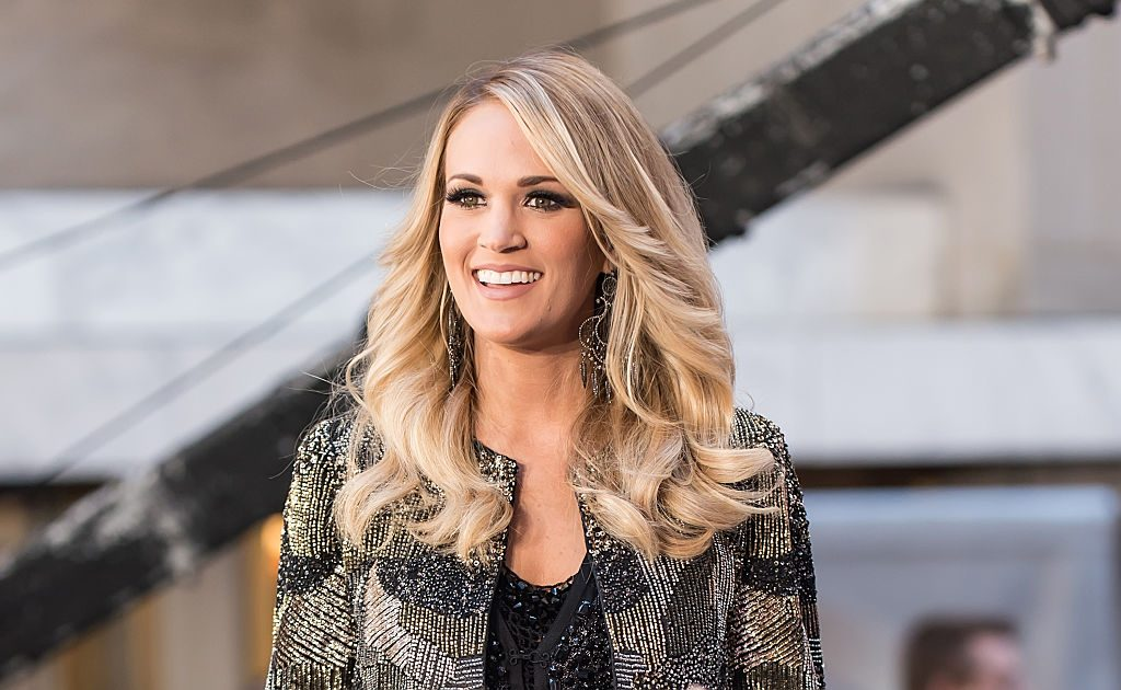 """Carrie Underwood performs On NBC's """"Today."""""""