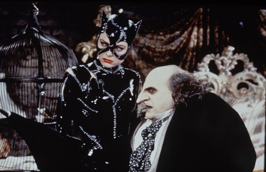 Michelle Pfeiffer as Catwoman in the 1992 'Batman Returns.'