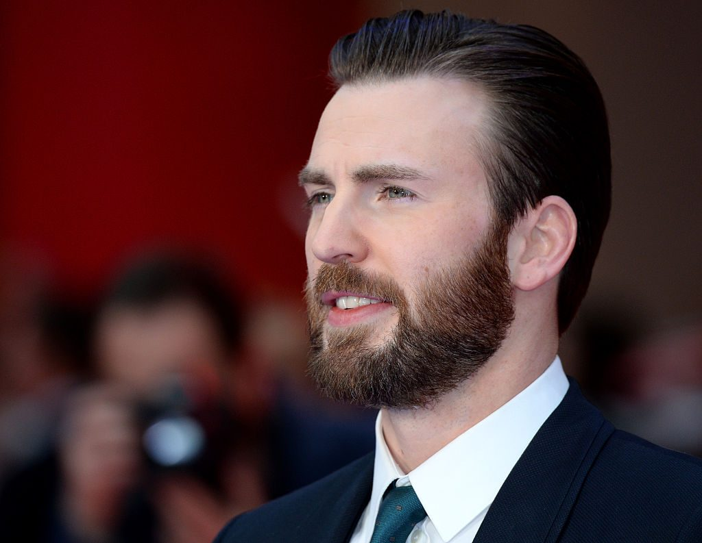 Chris Evans attends the European premiere of 'Captain America: Civil War.'