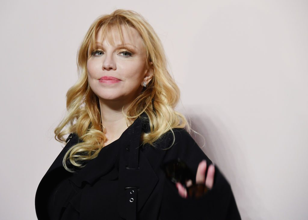 Courtney Love attends the Tom Ford FW 2019 Arrivals in New York.