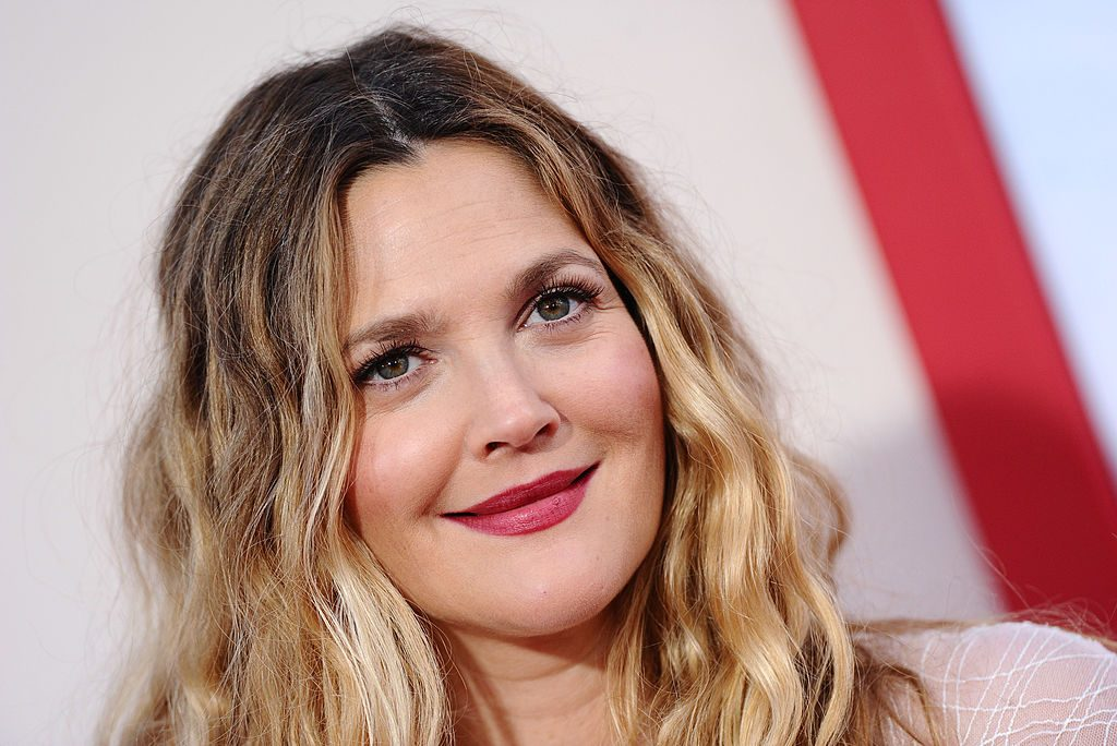 Drew Barrymore arrives at the Los Angeles premiere of 'Blended' at TCL Chinese Theatre.