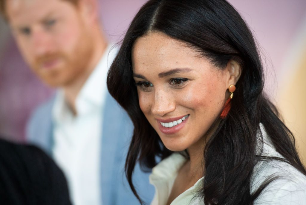 Meghan Markle in Johannesburg, South Africa.