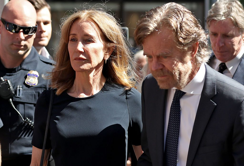 Felicity Huffman Reports to Prison for Role in College Admissions Bribery Scandal