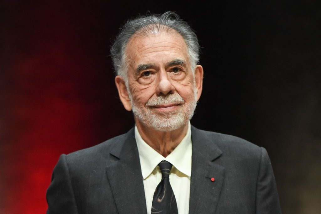 Francis Ford Coppola receiving the Lumiere Award on October 18, 2019