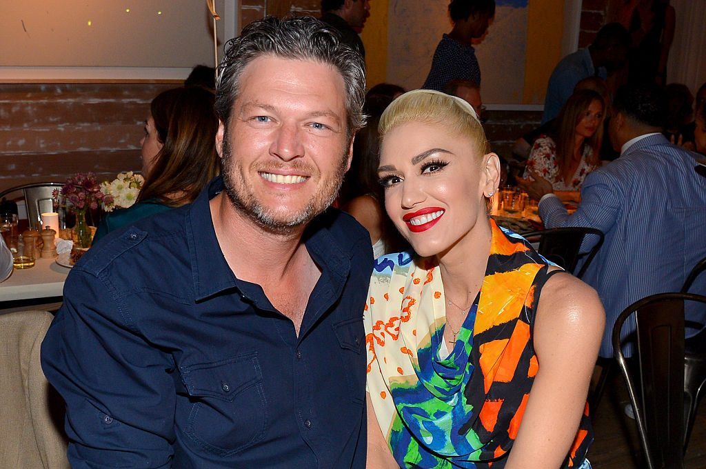 Blake Shelton and Gwen Stefani attend the Apollo in the Hamptons.