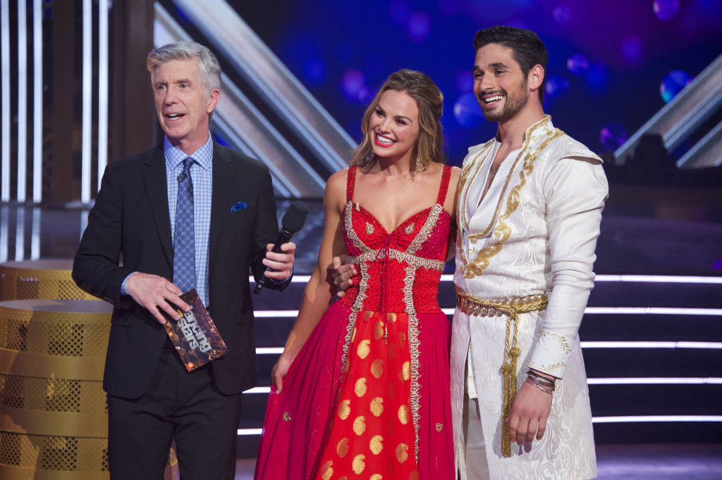 Hannah Brown and her partner on 'Dancing With The Stars.'