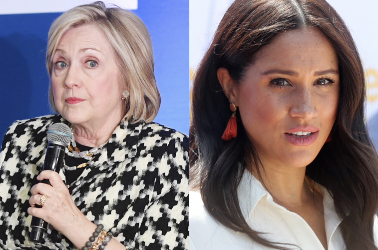 Hillary Clinton on the Real Reason Meghan Markle Gets Brutally Attacked by Tabloids