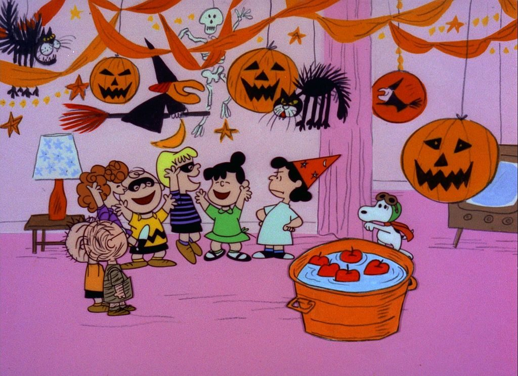Party scene from It's the Great Pumpkin Charlie Brown