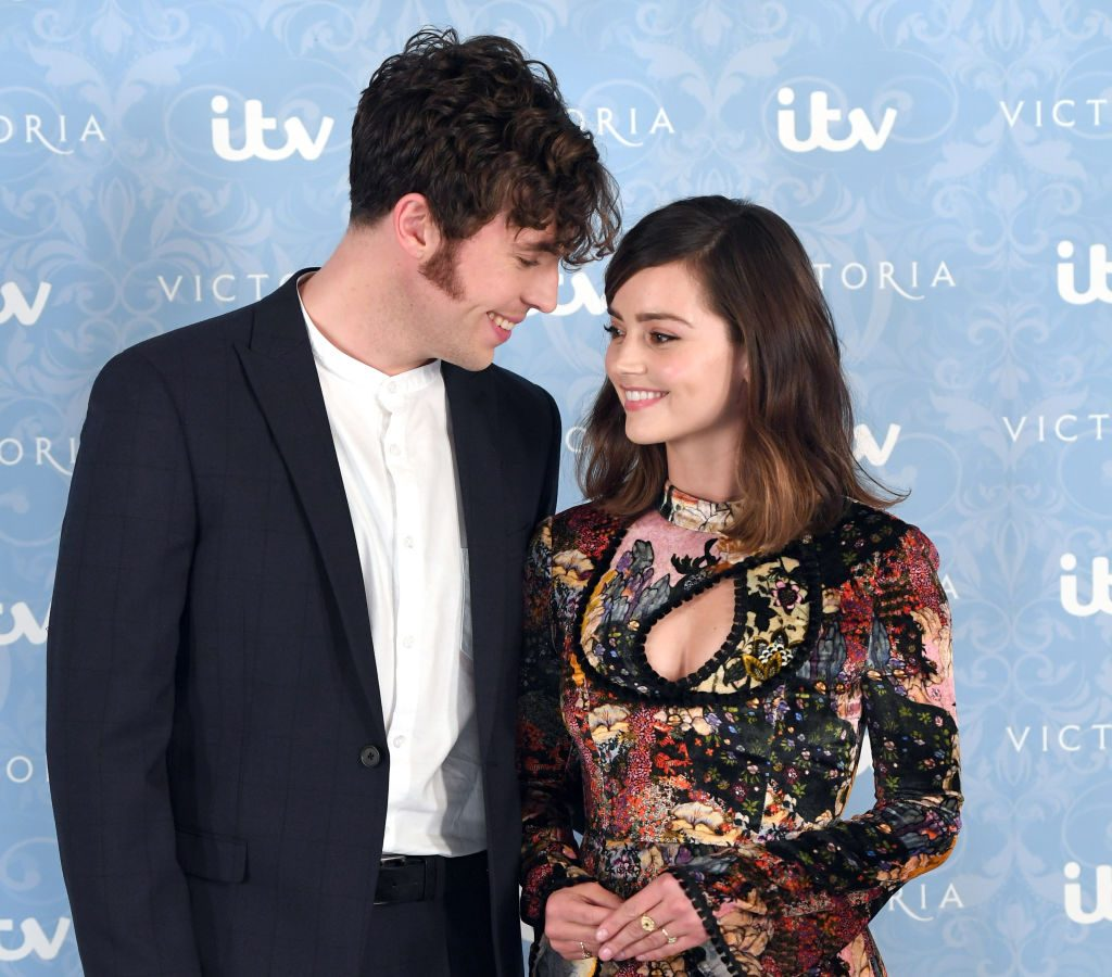 Tom Hughes and Jenna Coleman