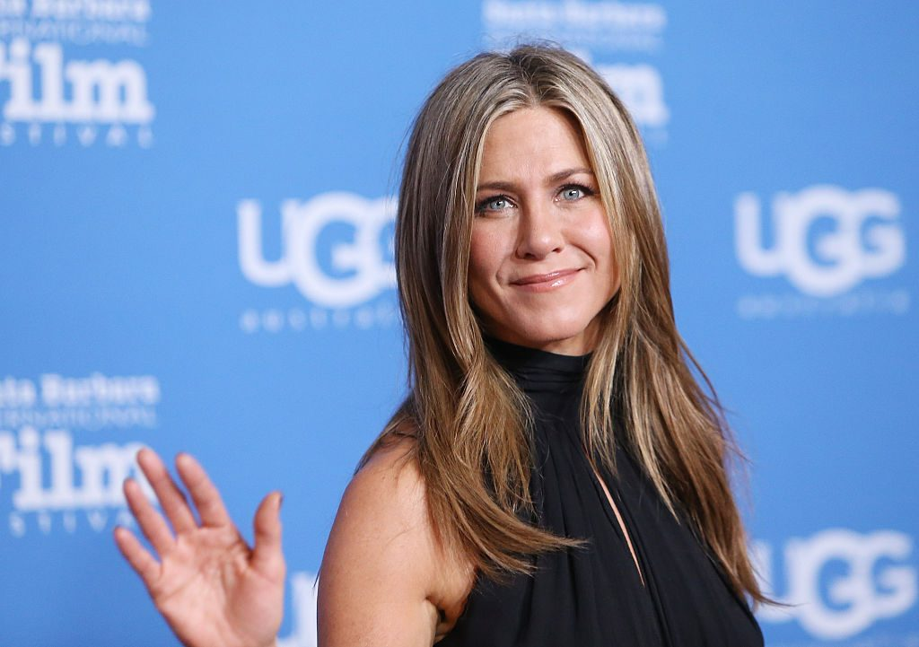 Jennifer Aniston arrives at the 30th Santa Barbara International Film Festival.