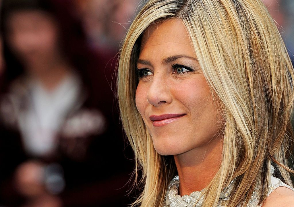 "Jennifer Aniston attends the UK film premiere of ""Horrible Bosses"" at BFI Southbank."