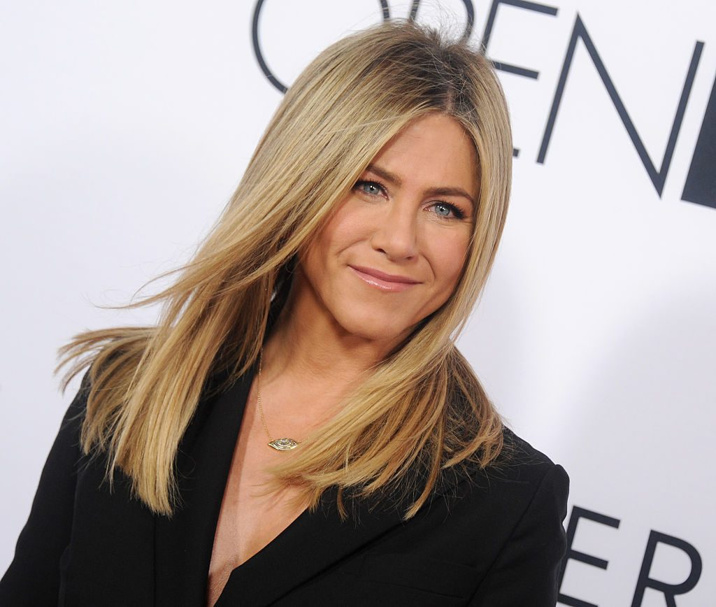 "Jennifer Aniston arrives at the Open Roads World Premiere Of ""Mother's Day."""