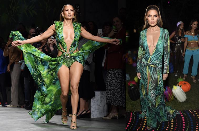 Jennifer Lopez and Lisa Rinna