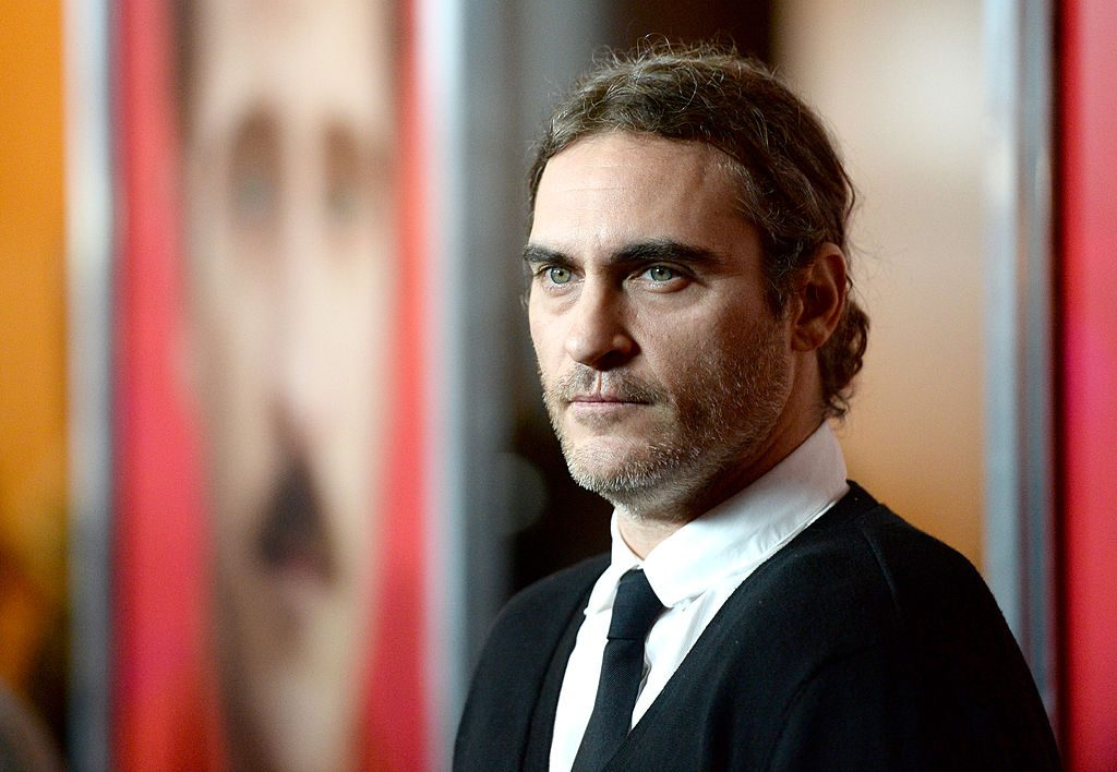 """Joaquin Phoenix attends the premiere of Warner Bros. Pictures """"Her"""" at DGA Theater."""