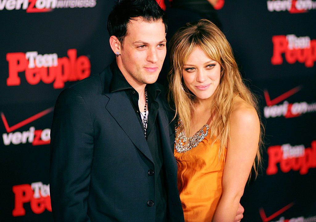 Joel Madden and Hilary Duff in 2005