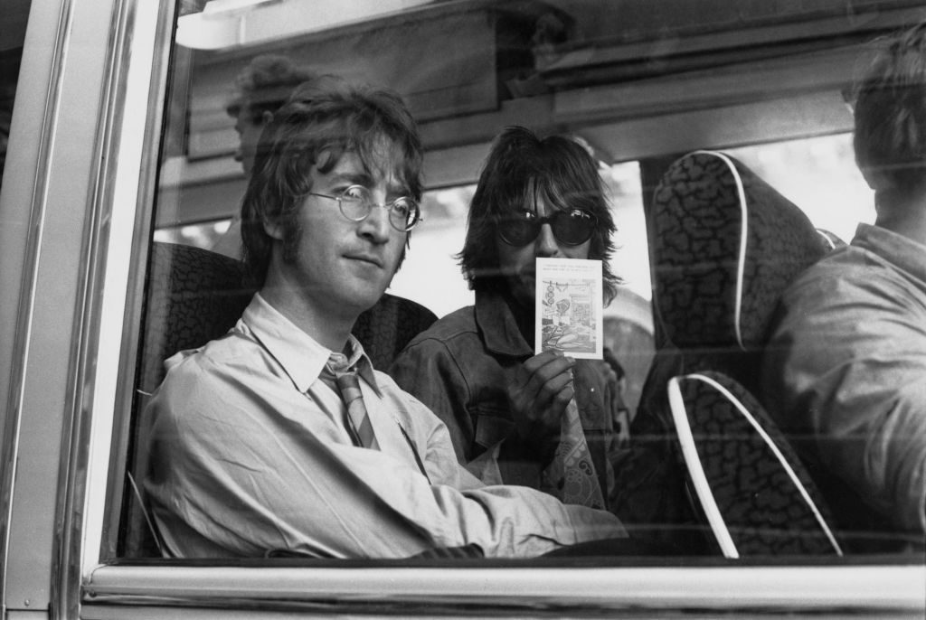 Why John Lennon Wasn T Worried When George Harrison Walked Out On The Beatles