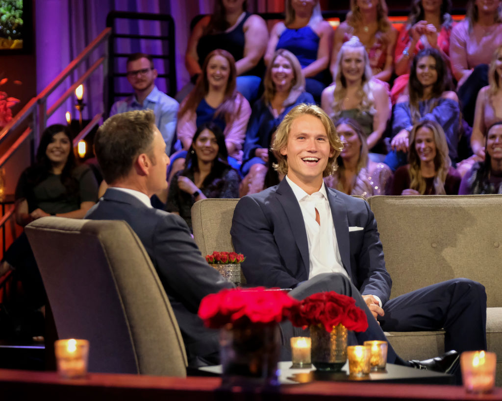 "John Paul Jones on 'The Bachelorette' ""Men Tell All"" episode."