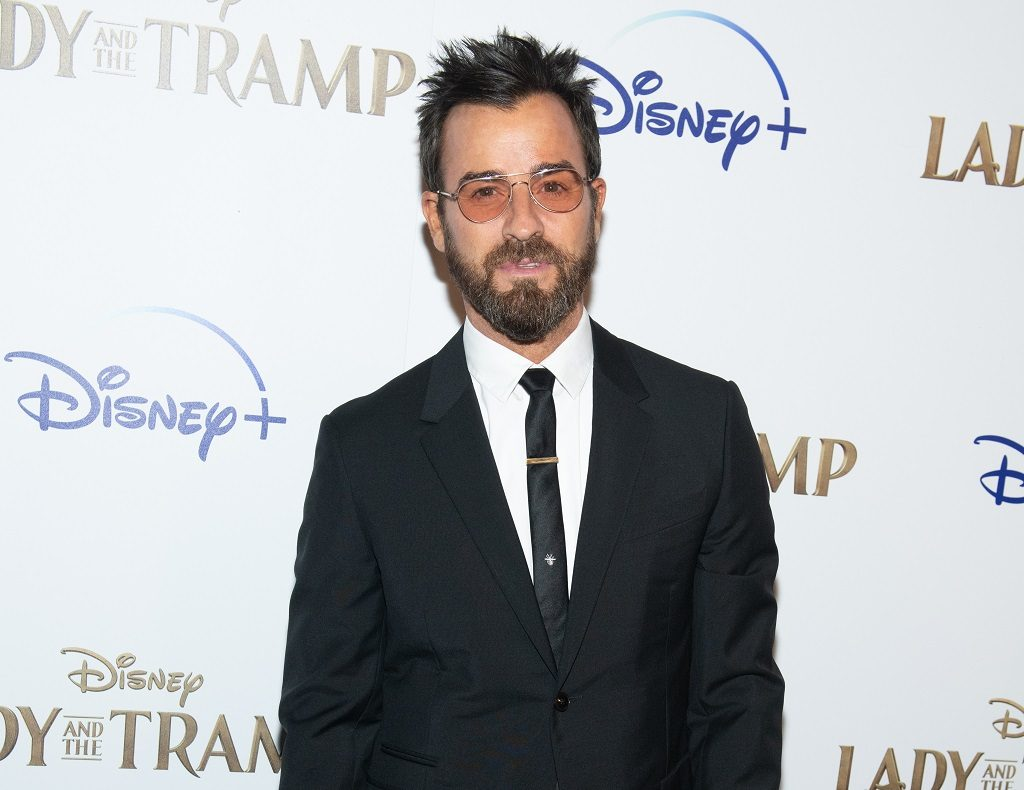 """Justin Theroux attends Disney+'s """"Lady and the Tramp"""""""