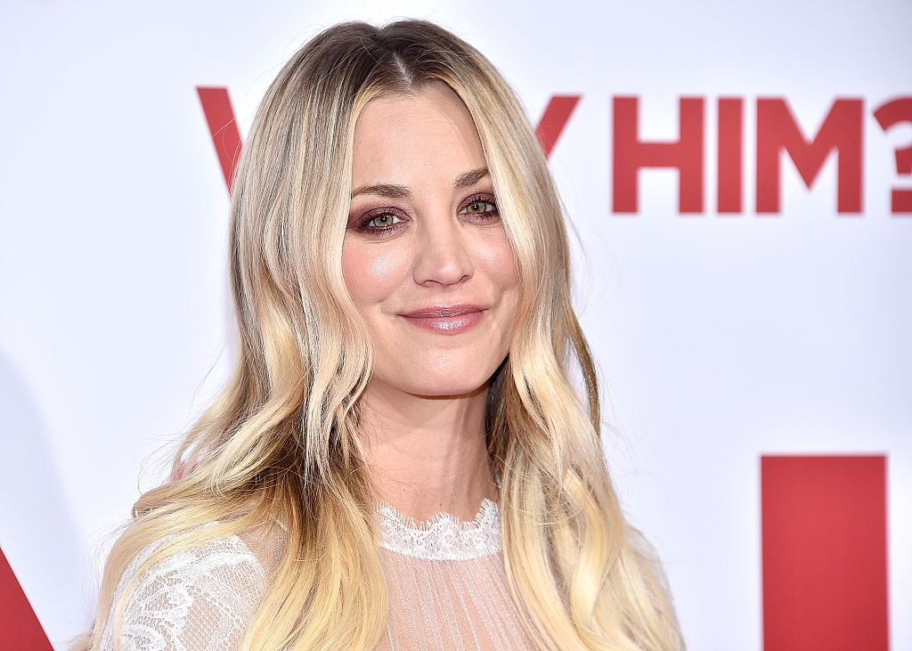 "Kaley Cuoco attends the premiere of 20th Century Fox's ""Why Him?"" at Regency Bruin Theater."