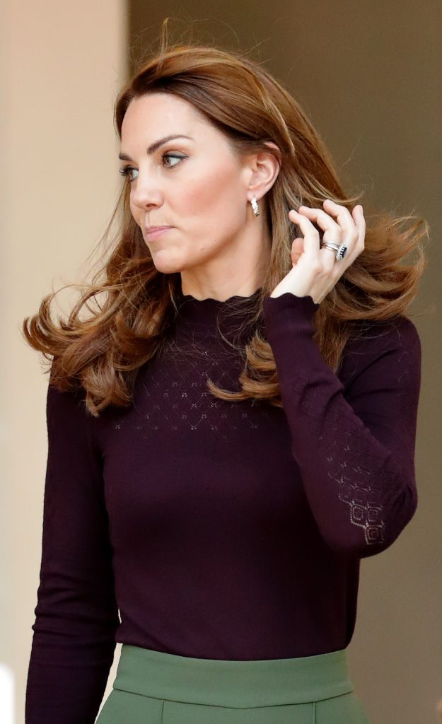 Catherine, Duchess of Cambridge visits The Angela Marmont Centre For UK Biodiversity at the Natural History Museum