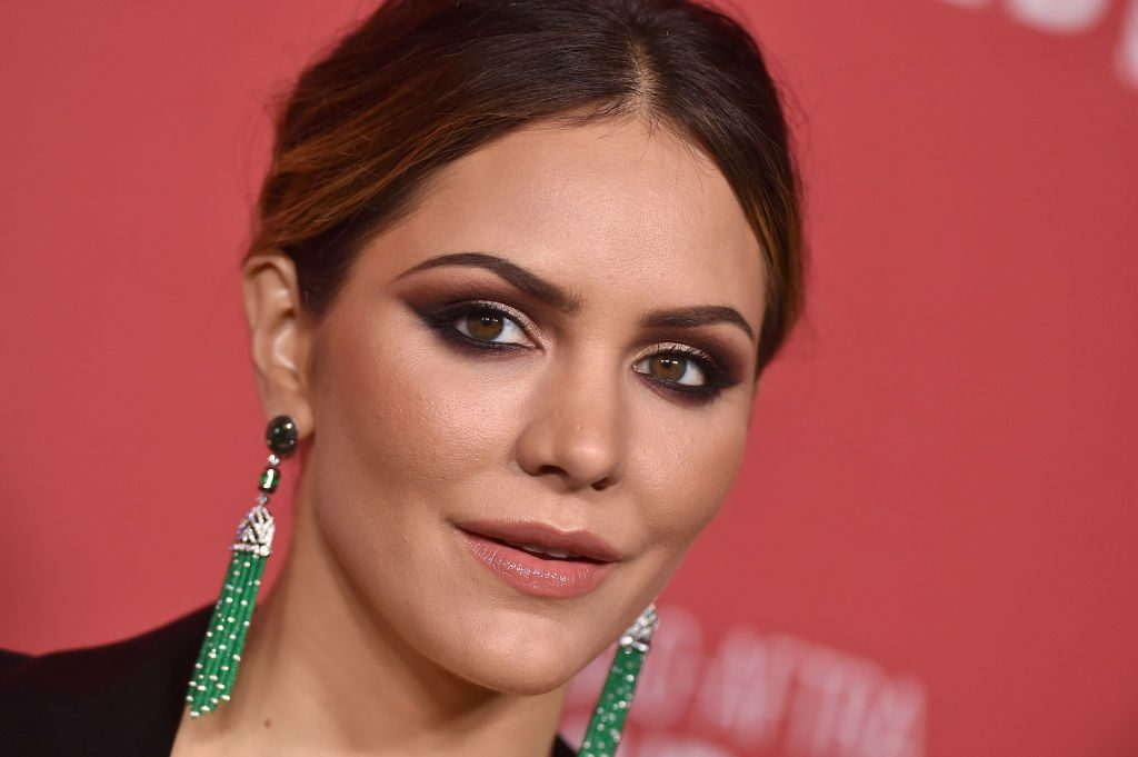 Katharine McPhee arrives at SAG-AFTRA Foundation Patron of the Artists Awards 2017.