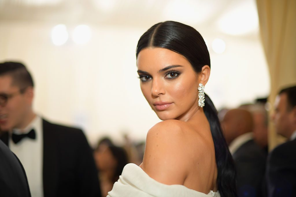 Kendall Jenner attends the Heavenly Bodies: Fashion & The Catholic Imagination Costume Institute Gala