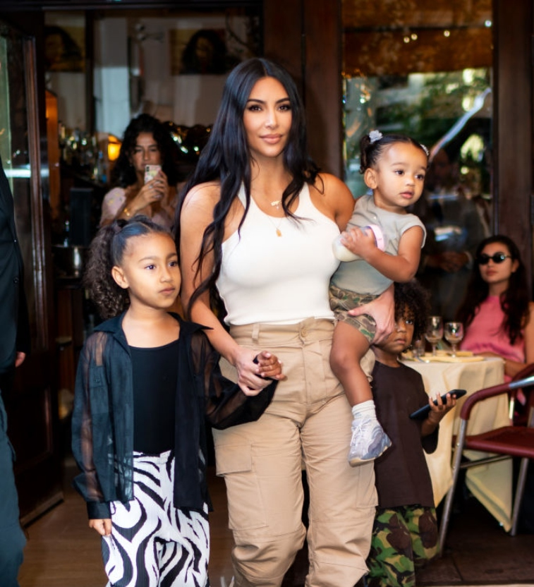 Kim Kardashian West and kids
