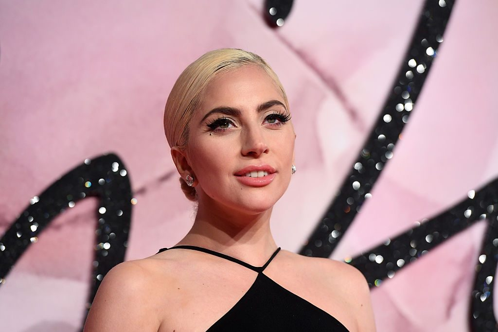 Lady Gaga attends The Fashion Awards 2016.
