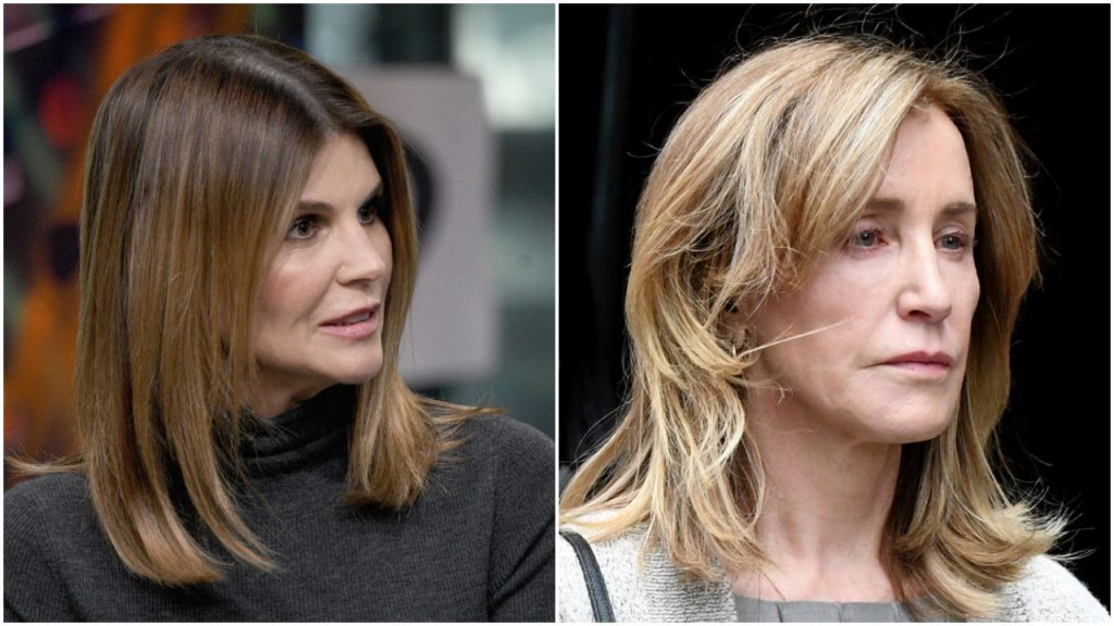Lori Loughlin and Felicity Huffman composite image