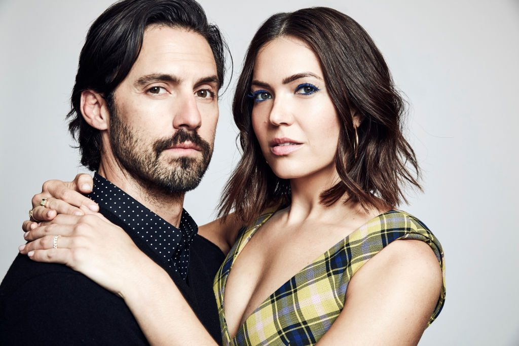"""Milo Ventimiglia and Mandy Moore star in """"This Is Us."""""""