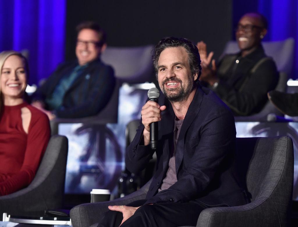 Mark Ruffalo on the 'Avengers: Endgame' panel.