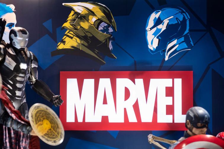 Marvel Studios booth