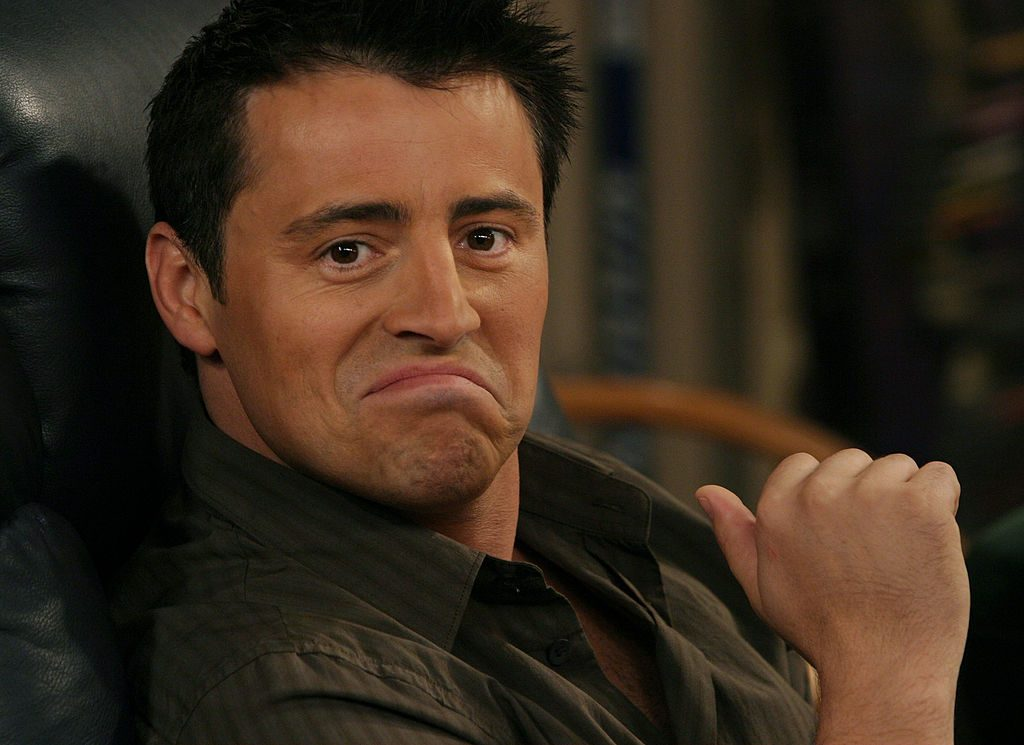 Matt LeBlanc played Joey on the hit NBC series 'Friends.'
