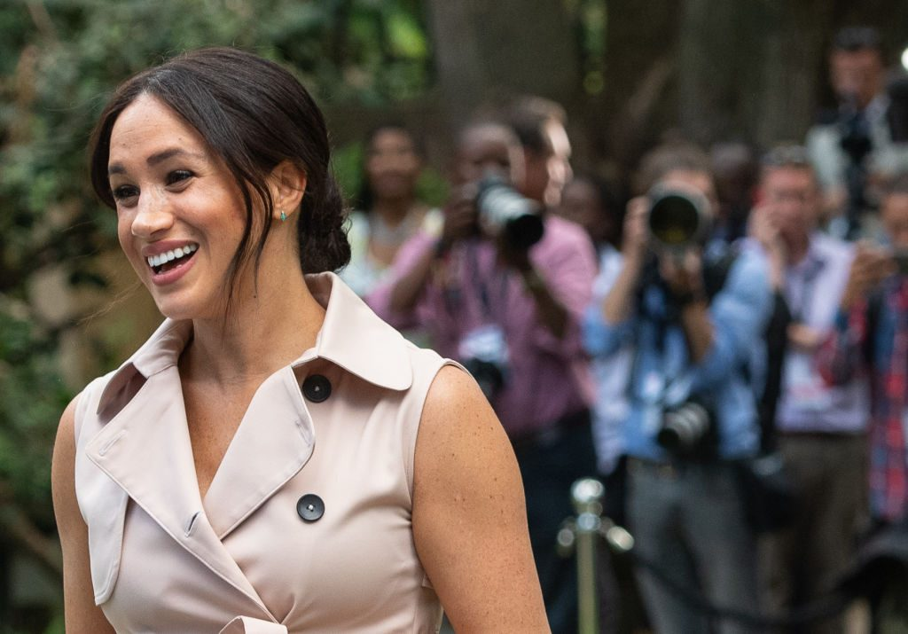Meghan Markle on her royal visit to Africa.