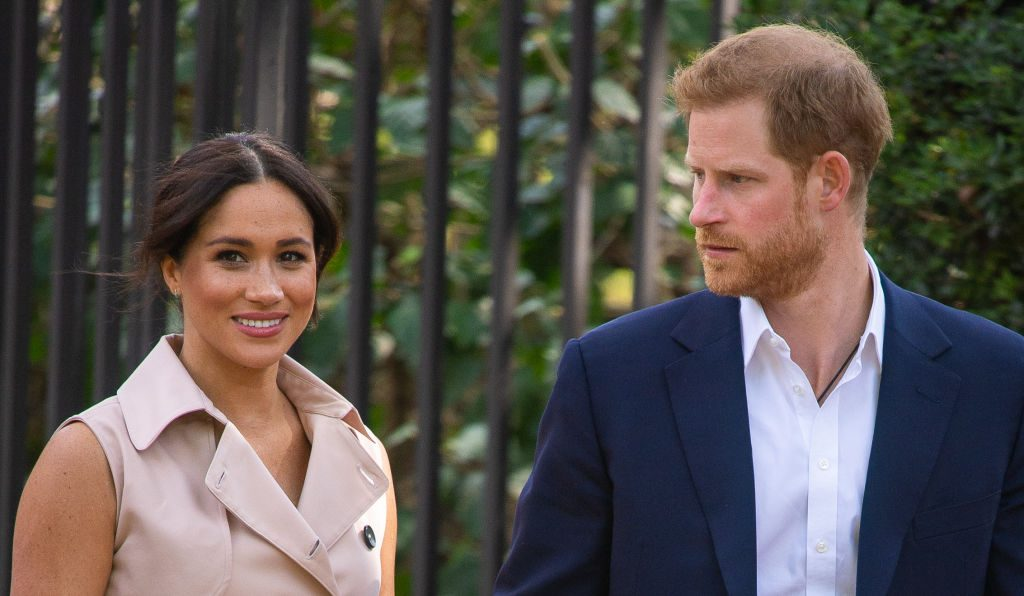 Meghan Markle and Prince Harry's royal visit to Africa.