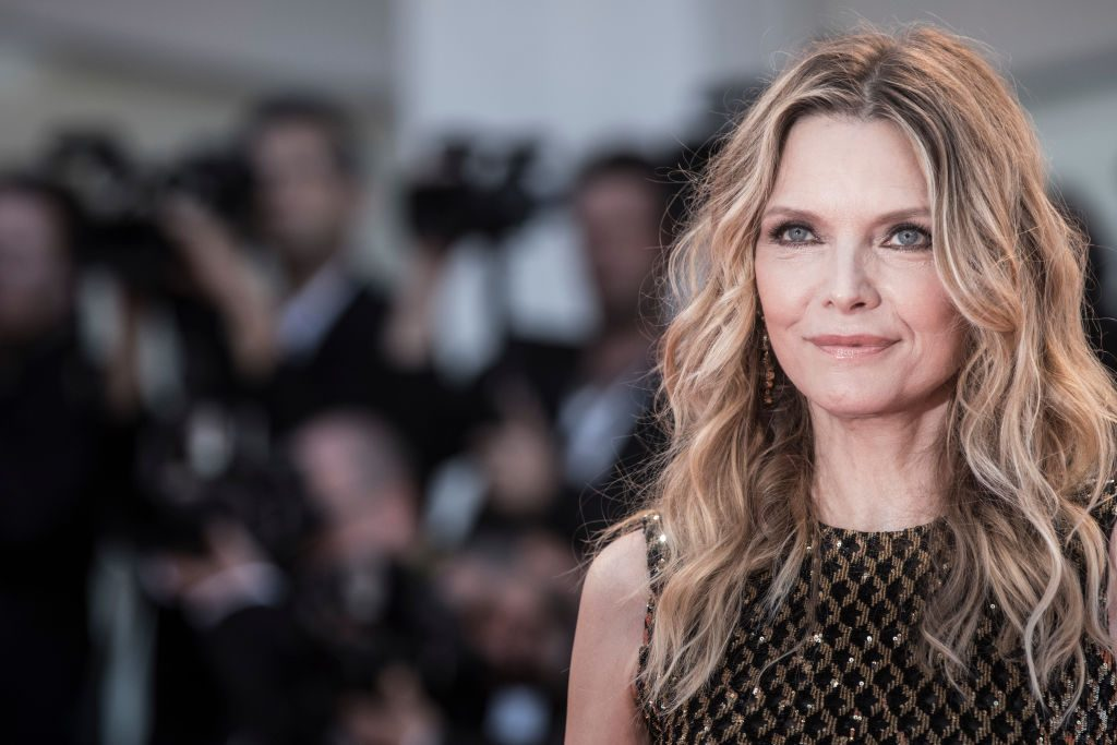 Michelle Pfeiffer attends the 'mother!' screening during the 74th Venice Film Festival.